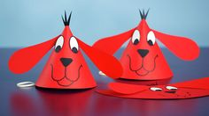 Clifford the Big Red Dog is celebrating his 50th Birthday on Feb. 14. Celebrate by making this fun party hat with your students! Watch our video how to at scholastic.com/instructor.