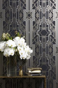 Catherine Martin & Mokum Textiles; The Great Gatsby   decodecor   Now I would love this for the bedroom.