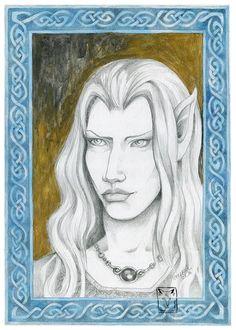 Lady Galadriel by dragonladych on DeviantArt