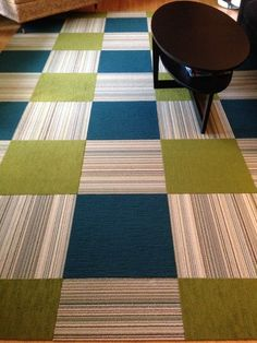 FLOR Carpet Tiles Make Changing The Look Of Your Room Easy