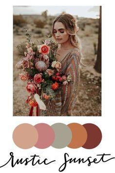Wedding Color Pallet, Wedding Color Schemes, Wedding Color Palettes, Colour Schemes, Boho Wedding, Dream Wedding, Wedding Day, Wedding Beauty, Wedding Stuff