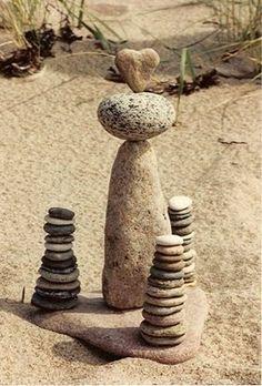 Rock size provocation