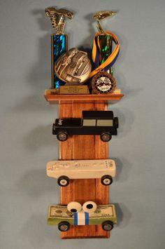 pinewood derby car display case | Marginalizing Morons: Pinewood Derby Car Displays