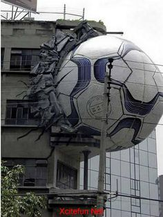 Dang.......I told Hulk to stop kicking soccer balls......see this is why we cant have nice things!!!!