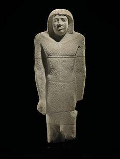 AN EGYPTIAN LIMESTONE STATUE OF SEKHEMANKHPTAH | OLD KINGDOM, 5TH-6TH DYNASTY, CIRCA 2389-2255 B.C. | Ancient Art & Antiquities, statue | Christie's
