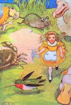ALICE'S ADVENTURES IN WONDERLAND BY MARIA L KIRK
