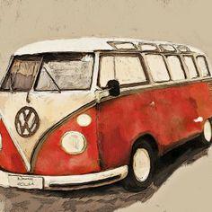 Classic Volkswagen. Dream car...