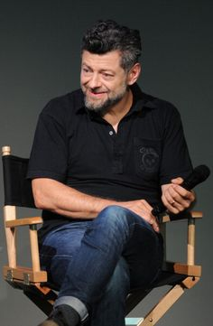 Andy Serkis attends 'Meet The Actor' at Apple Store Soho on July 8, 2014 in New York City.