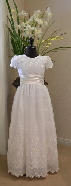 First Communion Dresses Communion Dress Holy by CouturesbyLaura