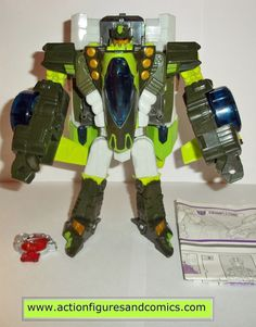 Takara / Hasbro toys TRANSFORMERS cybertron action figures for sale to buy 2006 Voyager class CRUMPLEZONE 100% COMPLETE & includes instructions Condition: Excellent - nice paint, nice joints - nothing