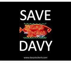 Help Save Davy's Locker's Sign!