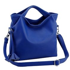 421628a6abb51 Ericdress Stylish Large Capacity Solid Color Women s Tote Bag