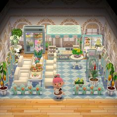 🌸 Florist Shop and Café 🍨 : ACPocketCamp