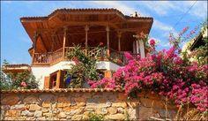 Nail Çakırhan House Muğla - Turkey. Turkish Architecture, Art And Architecture, Marmaris, Kingdom Of Heaven, European House, Historical Monuments, Urban City, Good House, Istanbul Turkey