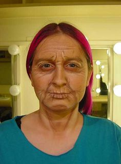 old age make up - Google Search
