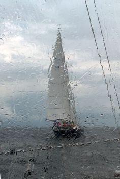 Dias de Chuva em pleno mar