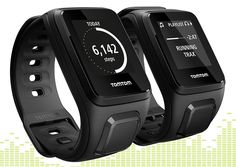 Tom tom GPS fitness watch- play music while you Run
