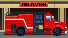 Fire Truck | Fire Engine For Kids | Fire Station Compilation For Kids