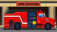 Uses of Fire Engine |  video xe cứu hỏa cho trẻ em | video cháy động cơ ...
