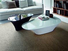 Crystal coffee table ATOLLO by Cattelan Italia design Giorgio Cattelan