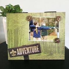 Adventure Boy Scout Leader dad fathers day cub by Frameamemory1