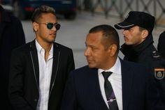 Audiência Neymar Madri (Foto: AP)