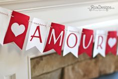 Lovely Garland For Valentine Day Decorating Ideas For Some More Valentine's Day Goodness