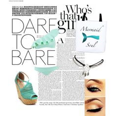 Untitled #12 by aulonamx on Polyvore featuring polyvore fashion style Lisa Marie Fernandez Wet Seal
