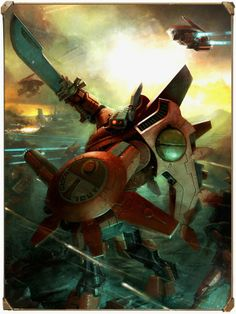 Farsight Enclaves - A Codex: Tau Empire Supplement - Internal Illustrations