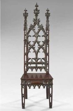 Gothic chairs | ... chair retains. The pierced stiles on this chair are a unique attribute