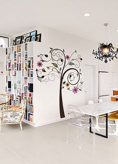 26 Best Disegni Da Muro Images Wall Decals Dandelion Wall Decal