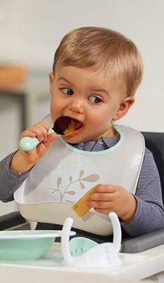 ¿Cómo facilitar el paso hacia la diversificación alimentaria? Sigue el ritmo del bebé.Hay que respetar los gustos y preferencias. Ármate de paciencia  #BÉABAteayuda #BebésBÉABA
