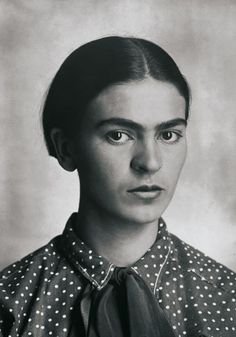 Frida Kahlo - Photo by Guillermo Kahlo - 1920s