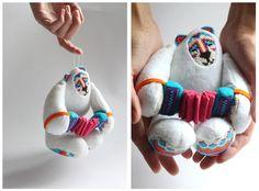 Russian Blues Bear by Natalia Averyanova