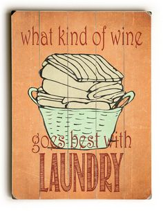 Wooden Sign Laundry Room Decor Inspirational by HappyLetterShop