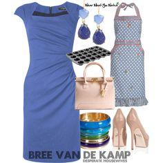 Inspired by Desperate Housewives character Bree Van de Kamp played by Marcia Cross.