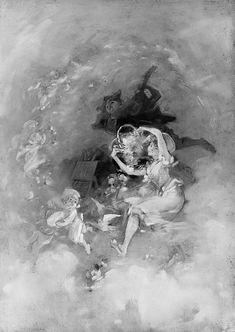 Centuries Past, Fantasia Artist:Jules Chéret (French, Paris...