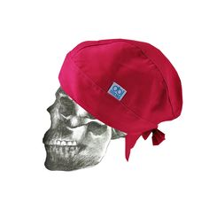 """Fitted """"Bandana"""" theatre cap - side view"""