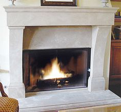 like the mantle part   Design and Manufacturing Process - Cast Stone Fireplaces, Mantels ...