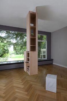 column with hidden storage