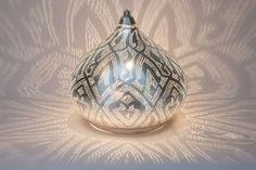 Zenza Filigrain Table Lamp - Silver