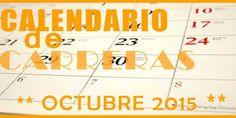 Aquí cuelgo el Calendario de carreras populares en Andalucia en Octubre 2015 para que planifiquen sus carreras con antelación.   #carreras #populares #running #maraton #marathon #triathlon #sevillahoy #malaga