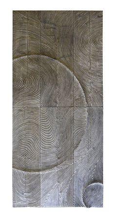 Panneaux sculptés | Etienne Moyat Wooden Wall Art, Diy Wall Art, Wood Art, Wood Sculpture, Wall Sculptures, Modern Exterior Doors, Timber Walls, Jeddah, Texture Art