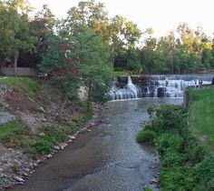 Honeoye Falls and Honeoye Creek Honeoye Falls, Finger Lakes, Upstate New York, Trains, Country Roads, Train