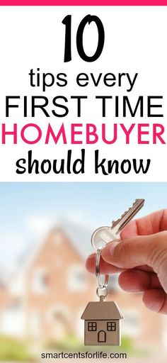 Buying a home could be the biggest purchase of your life, and it can be overwhelming, especially if you are a first-time home buyer. Here are 10 tips every first-time homebuyer should know. Before you become a homeowner check out these tips that will help you to avoid mistakes during the home buying process.