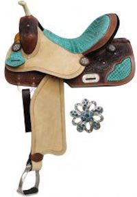 Barrel Style Saddle