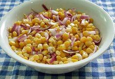 Osztrák kukoricasaláta Salad Recipes, Salads, Vegetables, Food, Essen, Vegetable Recipes, Meals, Yemek, Salad