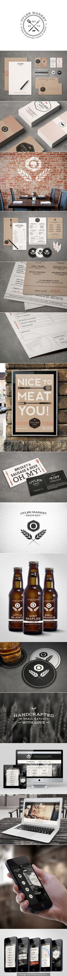 Lunchtime at Oyler Market #identity #packaging #branding