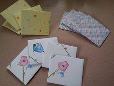 12 Handmade envelopes. by MadeByMargPlus on Etsy