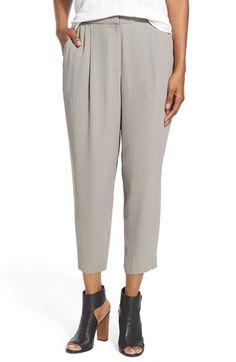 b5dada6625a Eileen Fisher Silk High Waist Crop Pants Eileen Fisher